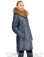 * Parka Puffer Coat Jacket w/ Raccoon Fur sz M / US 8 / EU 40 $645 Пуховик Енот