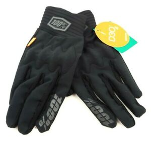 100% Cognito Gloves Size 2XL Black/Charcoal