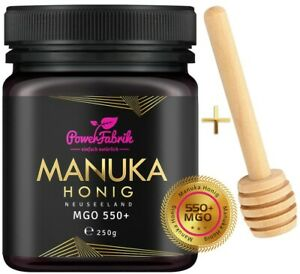 Manuka Honig MGO 550+, 250g, ZERTIFIZIERT, ORIGINAL aus Neuseeland, HALAL