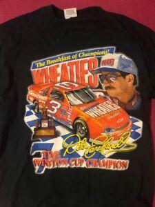 Vintage Nascar Dale Earnhardt T-shirt Black Unisex Reprint S-3XL TK2357