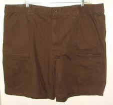 Men's NWT 4XL/50W  Brownstone Extendable Waistband Cargo Shorts (Foundry)