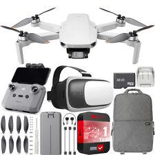 DJI Cuadricóptero Video Mini 2 Drone 4K + Paquete De Accesorios Mochila y FPV Auricular