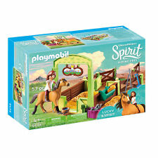 Playmobil 9478 Spirit Lucky & Spirit Play Set with Horse Stall, Age 4+