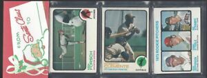 1973 Topps 12 Card Holiday Design Baseball Rack Pack....Roberto Clemente