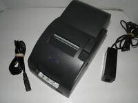 EPSON TM-U220A M188A Dot Matrix POS Receipt Printer USB RJ45 with Power Supply