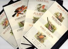 11 FRENCH WINE LABELS WITH BIRDS BEAUJOLAIS - POSTAGE FREE - VERY BEAUTIFUL