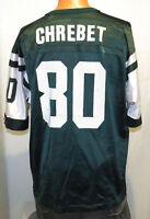 vtg WAYNE CHREBET NEW YORK JETS Jersey XL (48) Champion nfl 90s green ny nyj
