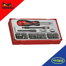 TTMD74 - Teng Tools - 74 Piece Ratcheting Bits Driver Set