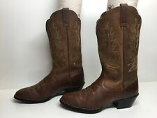 VTG WOMENS ARIAT COWBOY BROWN BOOTS SIZE 7.5 B