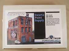 HO SCALE DOWNTOWN DECO SWARTZ PAINT SUPPLY DD-1044 CRAFTSMAN BUILDING KIT