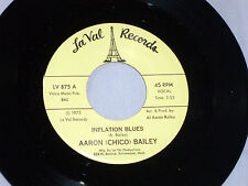 Aaron (Chico) Bailey:  Inflation Blues / Inflation  [Unplayed Copy]