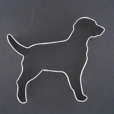 "DOG 4"" METAL COOKIE CUTTER FONDANT LABRADOR ANIMAL BIRTHDAY PARTY FAVOR NEW"