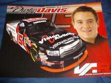 2011 DUSTY DAVIS #15 VISION AIRLINES NASCAR POSTCARD