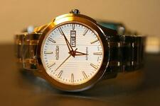 Roamer Mechaline EOS Gold Tone Swiss Made Men's Automatic Watch $1500 NEW
