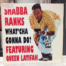 "[REGGAE]~EXC 12""~SHABBA RANKS~QUEEN LATIFAH~What'Cha Gonna Do~[x5]~Bedroom Bully"