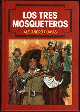 LOS TRES MOSQUETEROS - ALEJANDRO DUMAS - ILUSTRADO CON VIÑETAS B/N