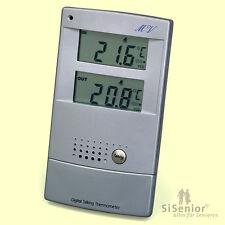Sprechendes Thermometer mit Sprachausgabe Wetterstation sprechend mit Sprache