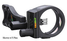 "TruGlo TSX Pro Sight w/Light 3 Pin .019"" RH/LH Black"