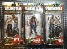 Signed Michonne & Pets Series 3 COA McFarlane Figure The Walking Dead walgreens