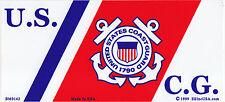 U.S.C.G. Logo Bumper Sticker/decal US USA United States Coast Guard