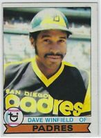 """1979 TOPPS DAVE WINFIELD CARD #30 SAN DIEGO PADRES """"LOW GRADE"""" OFF-CENTER"""