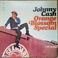 Johnny Cash ~ Orange Blossom Special Album LP 1965 Columbia Records Vinyl VG+