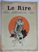 Cheret art Woman Sitting Le Rire Magazine 1895 #48 Art Nouveau graphics