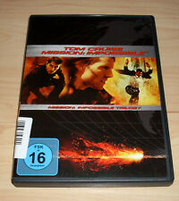 DVD Box - Mission: Impossible Trilogy - Teil 1 2 3 - Tom Cruise