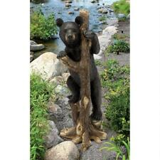 "©""Bashful Bear Cub"" Design Toscano Exclusive Hand Painted 34"" Garden Statue"