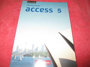 English G ACCESS 5 - Lehrbuch ISBN: 9783060334759 Cornelsen Verlag