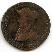 Royaume-Uni Emsworth Halfpenny token 1794 Variété E sur B Rare