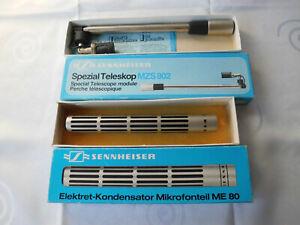 Sennheiser ME 80 Eletret - Kondensator Mikrofonteil + Spezial Teleskop MZS 802