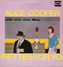 "ALICE COOPER ""PRETTIES FOR YOU"" ORIG UK 1969 EX/EX"