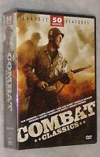 Combate Movie Classics 50 War MILITAR Películas 12 DVD Box Set Nuevo Sellado