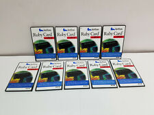 Lot of 9 VeriFone Ruby II Cards with HPV-20 Workstation P040-07-506 P040-07-507
