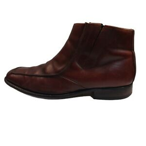 Florsheim Men's Barcelona Tan Leather Boots Size 11 EE