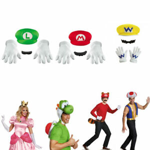 Mario Brothers Adult Accessory Kit (Choose your kit) Accessory Halloween