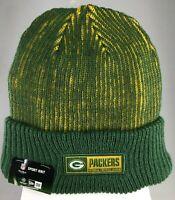 GREEN BAY PACKERS NFL SPORT KNIT CUFFED BEANIE WINTER CAP HAT NEW ERA NEW W TAGS