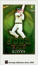 2009-10 Select Cricket Trading Cards 5000 TEST RUNS TR15 Michael Slater