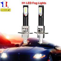 2× H1 80W CSP LED Ampoule phare de voiture lampe de brouillard DRL 6500K Blanc