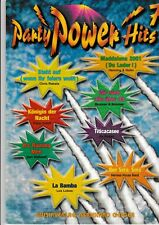 Party Power Hits. Piano, Vocal, Chords. Bd.7.