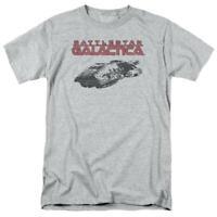 Battlestar Galactica t-shirt Retro 70's 80's Sci-fi TV series graphic tee BSG245