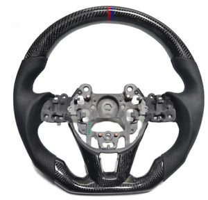 Real carbon fiber Sport Universal Car Steering Wheel Fit For Mazda( Customized)