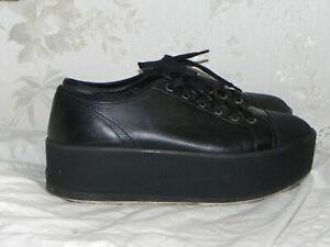 Prada Schuhe Größe Gr 39.5 mit Absatz, Plateuschuhe, Wedge