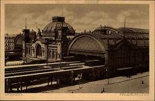 Dresden Sachsen alte AK Bahnhof ~1920 Blick auf den Hauptbahnhof Bahnhofsgebäude