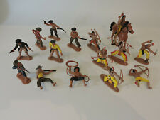 Unbranded on Base similar size to crescent Cowboys and Indians Toy soldiers.