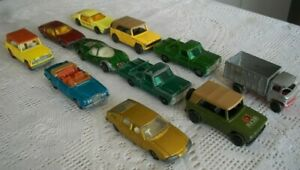 Vintage 1960's Lesney Matchbox Diecast Field Car Truck Ford Rolls More Superfast