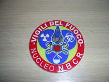 PATCH VIGILI DEL FUOCO  - NUCLEO NBCR - GOMMATO