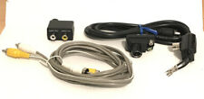 SMK 75-300 Ohm Coaxial Antenna Connector & Other Vintage Cable Lot Audio Video