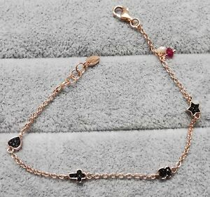 """TOUS 914931510 Bracelet in Rose Vermeil with Spinels, Ruby and Pearl 175mm/6.9"""""""